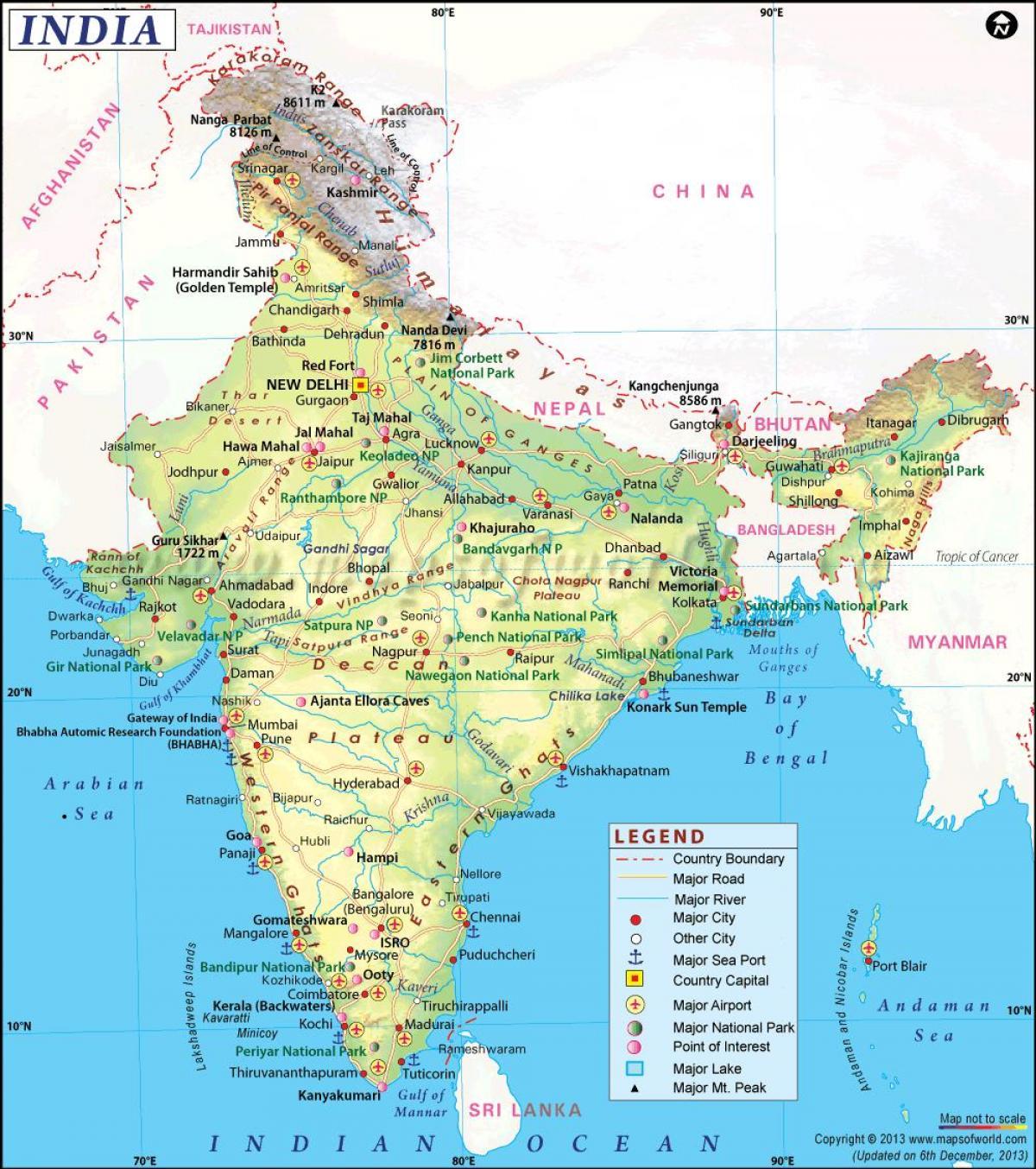 Cartina India.Peta Transportasi Dari India India Peta Transportasi Asia Selatan Asia